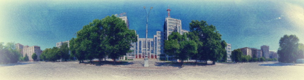 Панорама площади Свободы